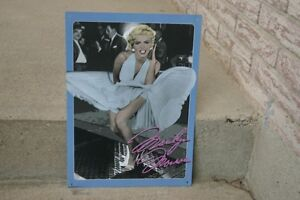 METAL PICTURE OF MARILYN MONROE/COLLECTIBLES