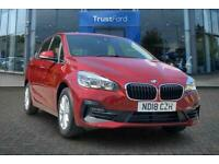 2018 BMW 2 Series 218I SE ACTIVE TOURER With Satellite Navigation + Cruise Contr