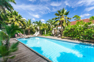Paradise in the Caribbean Frangipani Apartments in Curacao