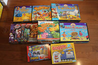 Various Kids Board Games