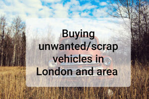 Buying unwanted/scrap car/vehicle call 226 700 4815