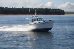 Looking For 42-45' Northumberland Style Fiberglass Fishing Boat