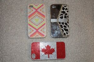 10 cell phone cases for iPhone 4 or 4S and 5 home buttons Kitchener / Waterloo Kitchener Area image 2