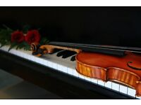 Violin, piano and singing lessons for everyone!
