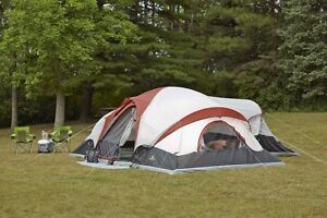 Outdoor Spirit 21' x 17' 12-Person 3-Room Cabin Dome Tent, New