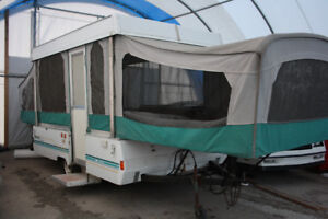 Tent Trailer for Rent - Clean