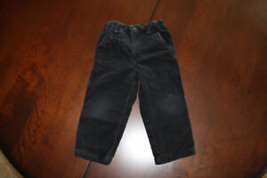 Black Pants- Cords- 3T