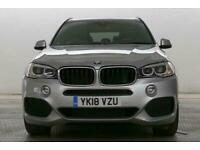 2018 BMW X5 2.0 xDrive25d M Sport Auto SUV Diesel Automatic