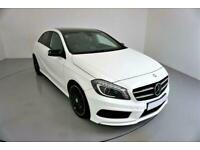 2014 WHITE MERCEDES A220 2.1 CDI AMG SPORT DIESEL AUTO CAR FINANCE FR £257 PCM