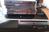 Trade or Sell; ps3 with 5 games,4 unopened