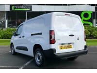 2021 Vauxhall COMBO CARGO Combo 2300 1.5 Turbo D 100 L2 H1 Dynamic Van Van Diese