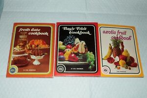 Series of 3 Sybil Hendersons small cookbook