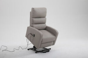 NEW EASY LIFT CHAIR HEAT MASSAGE CHAIR RECLINER BLACK GRAY BROWN
