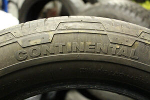 4 Continental Contact 255/50R19
