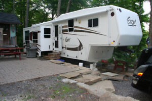 2008 Excel Limited 5th wheel