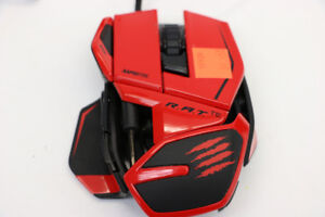 **COMPUTER MOUSE**Mad Catz R.A.T.TE Gaming Mouse (#15909)