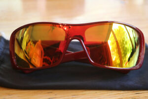 Oakley Antix Sunglasses Red Polarized Lens