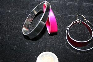 2-Toned Earrings Belleville Belleville Area image 2