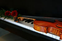Private violin and/or piano lessons