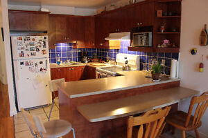 Beau 3 ½ appartment meuble / Charming 3 1/2 Fully Furnished