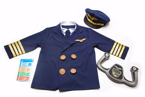 New Role Play Pilot Costume Cambridge Kitchener Area image 1