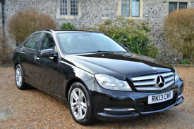 Mercedes-Benz C200 2.1CDI Blue 2013 CDI Executive SE, 62K MILES, FULL S/HIST,