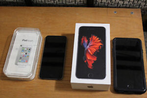iPhone 6s and iPod 4th gen like New