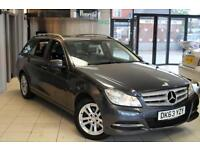2013 63 MERCEDES-BENZ C CLASS 2.1 C220 CDI BLUEEFFICIENCY EXECUTIVE SE 5D 168 BH