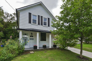 Stunning Century Home Located In The Heart Newmarket! This Charm