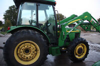 SET UP FOR SNOW PLOWING- JOHN DEERE 5520 REDUCED!