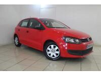 2010 59 VOLKSWAGEN POLO 1.2 S A/C 5DR 60 BHP