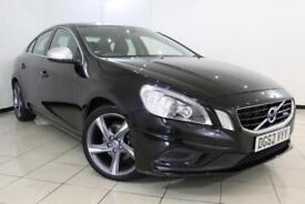 2012 62 VOLVO S60 1.6 D2 R-DESIGN LUX 4DR AUTOMATIC 113 BHP DIESEL