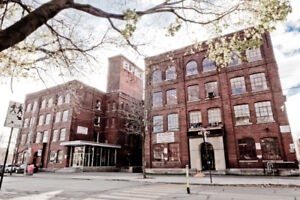 ELPROLOFTS - Lofts in St-Henri/sud-ouest/COMMERCIAL (1700SF)