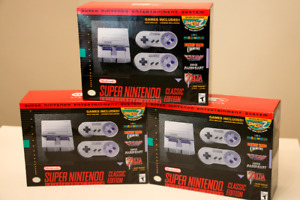 Brand New SNES Classic Edition