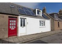 Scottish Seaside Cottage with 2 bedrooms. Fixed £145k. Ideal as holiday let or first/second home