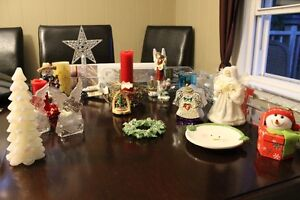 Christmas Decoration Collection, including musical snowman