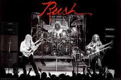 Rush Poster Print 36x24 Rock & Pop Music