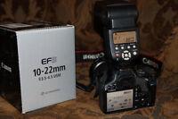 Canon Rebel T1i & Canon EF-S 10-22mm f/3.5-4.5 USM Lens