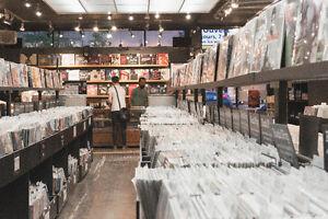 Vous avez des disques à vendre? On se déplace!