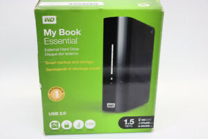 **STORAGE** My Book Essential External 1.5 TB Hard Drive - 16574