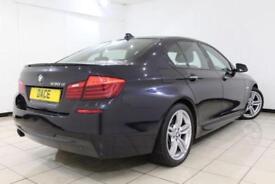 2013 63 BMW 5 SERIES 3.0 530D M SPORT 4DR AUTOMATIC 255 BHP DIESEL