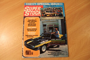 Vintage SUPER STOCK Magazines August and October 1978