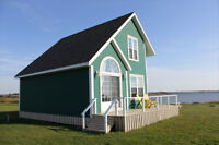Weekend Special ~ $299 ~ 4 Star Waterfront Cottage Darnely PEI