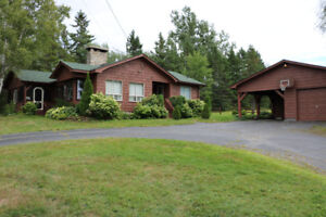 River-view house for sale in South Esk, 5 min. to Miramichi, NB