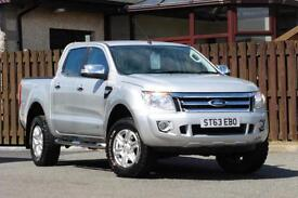 2013 FORD RANGER 2.2 TDCI LIMITED 4X4 DOUBLE CAB PICK UP 4DR PICK UP DIESEL
