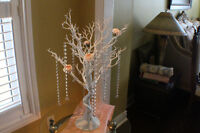 Manzanita Trees with Crystal Jewels for Rent