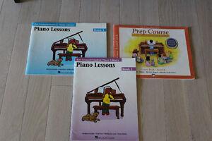 LESSONS PIANO BOOKS