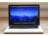 "13"" MacBook Pro, 3.1GHz Core i5, 16GB/8GB memory, 500GB, Adobe CS6, Logic Pro, Final Cut, AutoCAD"