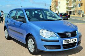 Volkswagen Polo 1.2 ( 70PS ) 2008 E, 28K MILES, FULL SERVICE HISTORY, NEW MOT,
