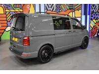 NEW VW TRANSPORTER T6 T30 SWB 2.0TDi 150PS DSG KOMBI LV SPORTLINE PK PURE GREY